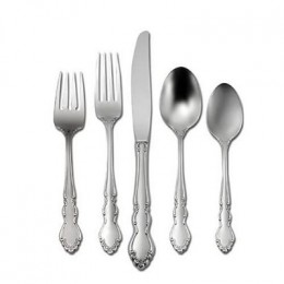 Oneida Dover Decorative Stainless Steel Flatware Set