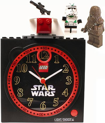 The Lego Star Wars Clock Is Great For Adults or Kids