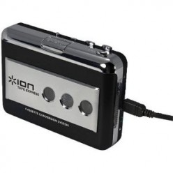 ION Audio USB Portable Tape-to-MP3 Player and Cassette Converter