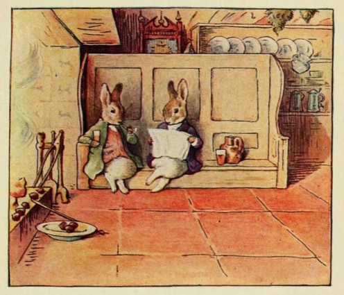 Though flattered by imitators galore Miss Potter's work stands supreme. Her many picture stories should be among the first books owned by children.