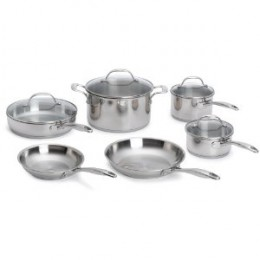 Oneida Steel Pots and Pans