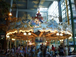 Enjoy the ride on the carousel at Genting Highlands.