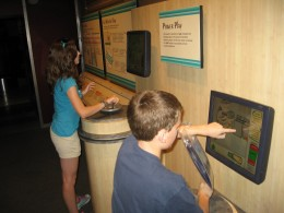 Interactive exhibits at Hoover Dam