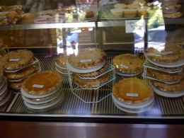 Look at those pies!