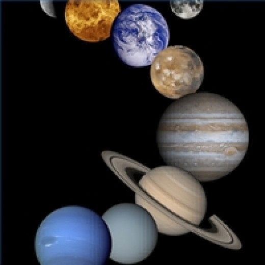 This photo montage shows the main planets in our solar system. Findings suggest that at least in our region of the galaxy, about 20 percent of stars are orbited by planets
