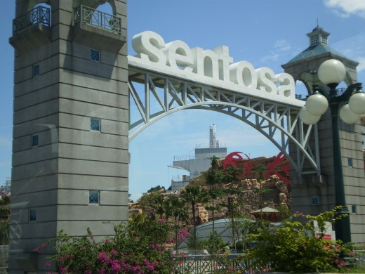 Welcome to Sentosa, a great place for the whole family.