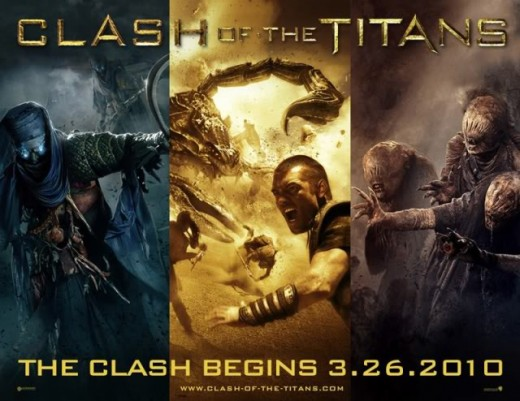 Clash of the Titans film review.