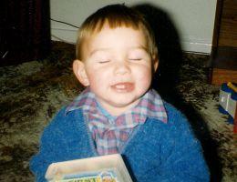 Daniel as a baby