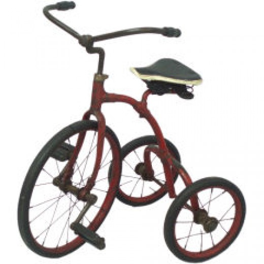 Tricycle Image Credit:1stdibs.com