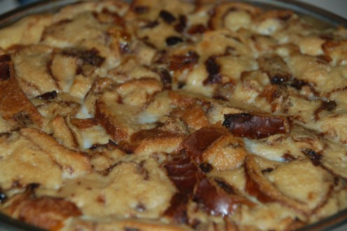 A sea of raisin and cinnamon goodness!