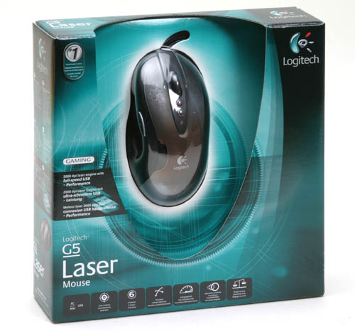 The Logitech G5 Laser Mouse is the World's best gaming mouse.