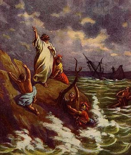 Paul, the Angel and Shipwreck