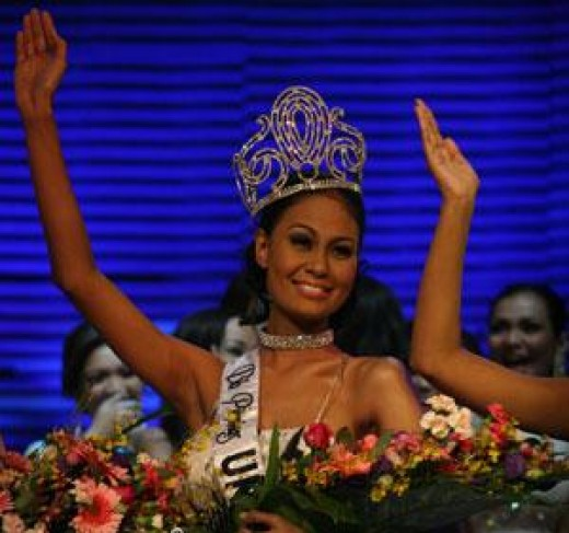 The crowning of Ms. Raj (March, 2010)