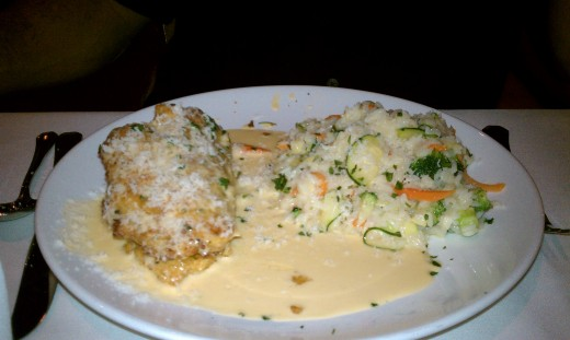 Crab Stuffed Chicken Breast by Vivace
