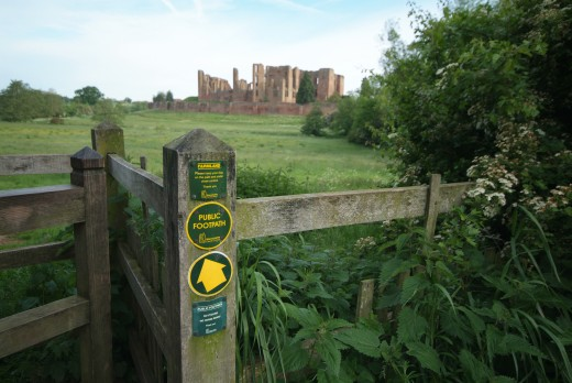 Kenilworth Castle - Jim Lawrie, May 2006 Kenilworth Castle, Kenilworth, Warwickshire
