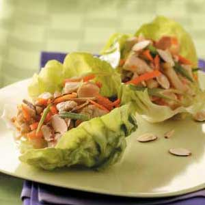 Eating healthy has become on of americas most important things to do, because it can help you improve on your life span, but it should not make you love the taste of food that's why I want you to try this tasty lettuce wrap it's really healhty and is