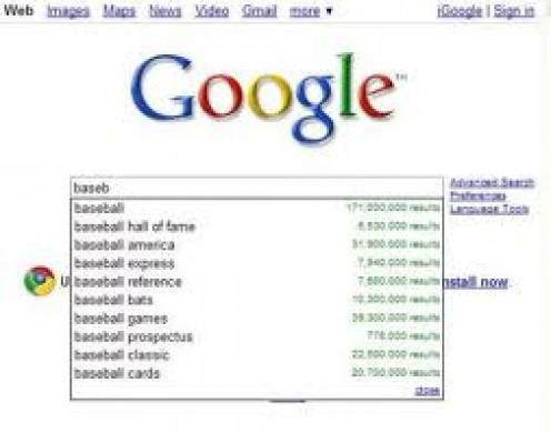 Google predictive queries