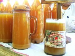Peruvian style beer: fermented corn.