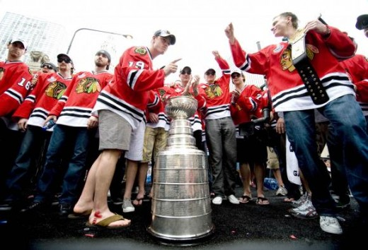 2010 Stanley Cup Champions Chicago Blackhawks