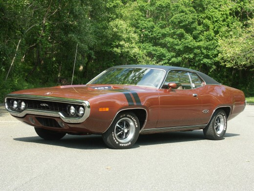 Mopar Muscle Cars - Plymouth GTX