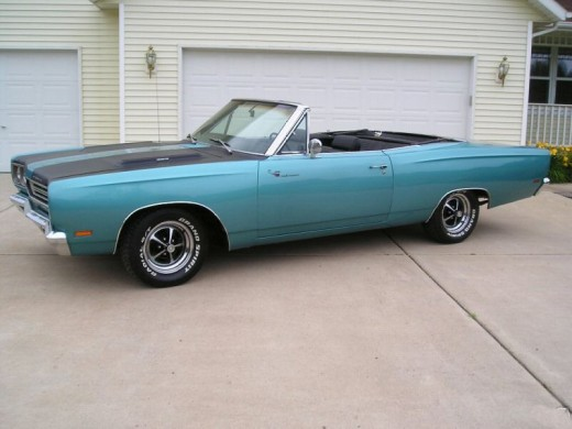 Mopar Muscle Cars - Plymouth Road Runner Convertible