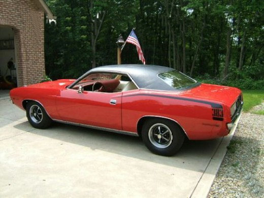 Mopar Muscle Cars - Plymouth 'Cuda