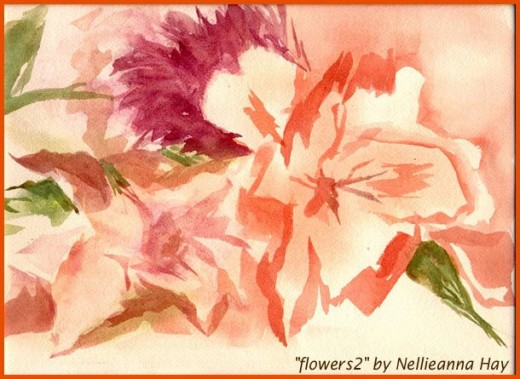 watercolor © by Nellieanna Hay