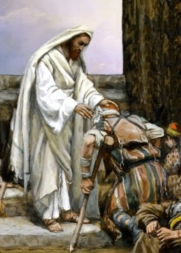 Jesus showed compassion when healing the sick. He did not judge them. How do we behave when dealing with the ill like someone with AIDS or H1N1.