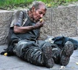 I was homeless and you gave me shelter, welcome beloved! Or; is it,  I was homeless and you stepped over me on the way to shopping or work; Depart from me you worker of iniquity.