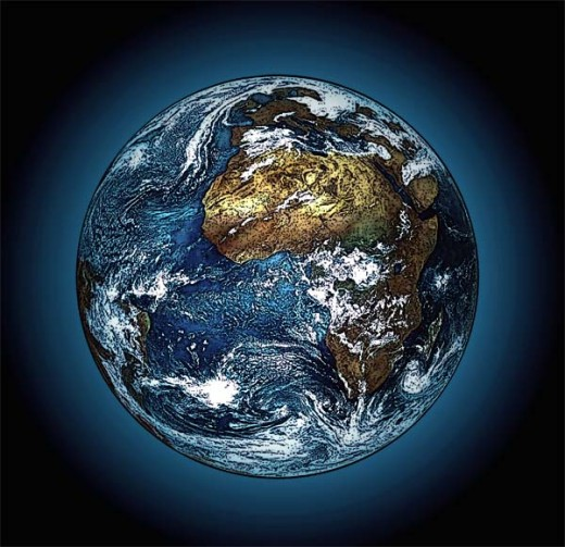 Even if the entire earth becomes the property of one individual, that passes to heirs after death to the loss of the dead individual.