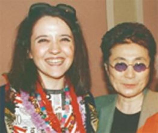 Margarita and Yoko Ono