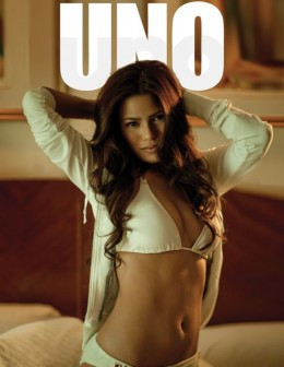 Denise Laurel at Rogue Magazine's May 2009 Cover
