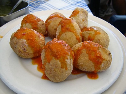 Papas arrugadas. Image by Fer on Flickr