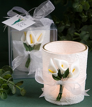 Calla Lily Candles by Wedding Favors Unlimited