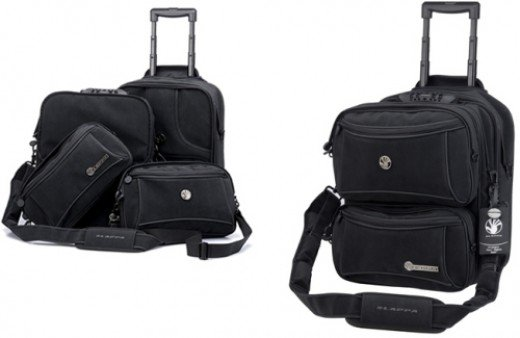 Two of the ultimate rolling laptop bags
