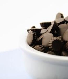 Mint Filled Dark Chocolate Baking Bits