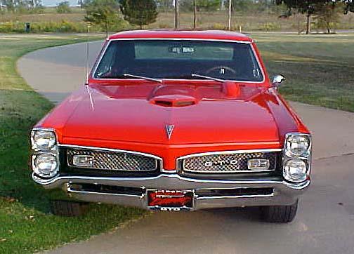 American Muscle Cars - Pontiac GTO