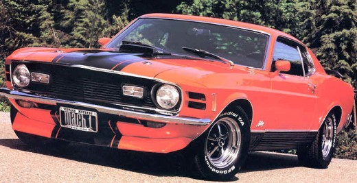 American Muscle Cars - Ford Mustang Mach 1