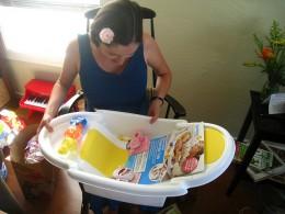 Baby Bathing cradle
