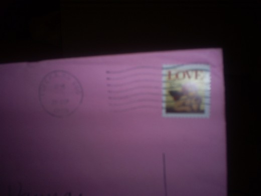 A postmarked letter from a family or a friend is still as much a treat as it was the first time I received one.