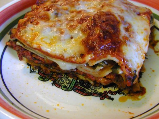 I bet you didn't know that lasagna is a pasta dish.