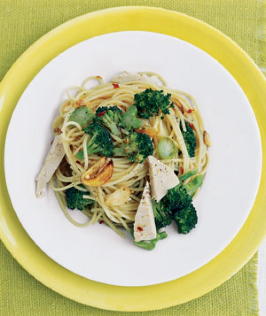 If you like Chicken , Broccoli  , and Spaghetti you'll love this great pasta dish.