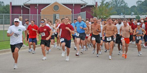 Registering and running in local road races can help you stay motivated to keep up the good work.