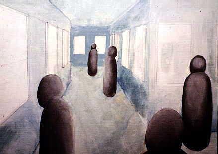 Paranoid schizophrenia - hallucinations and delusions