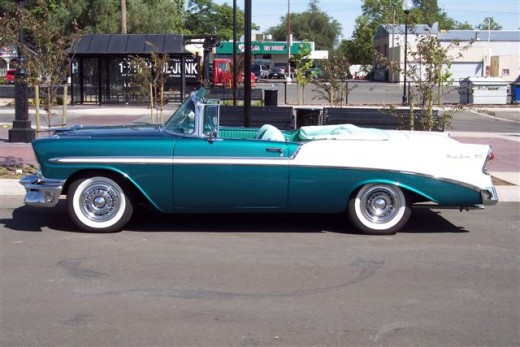 Chevy Classic Cars - 1956 Chevy Bel Air Convertible