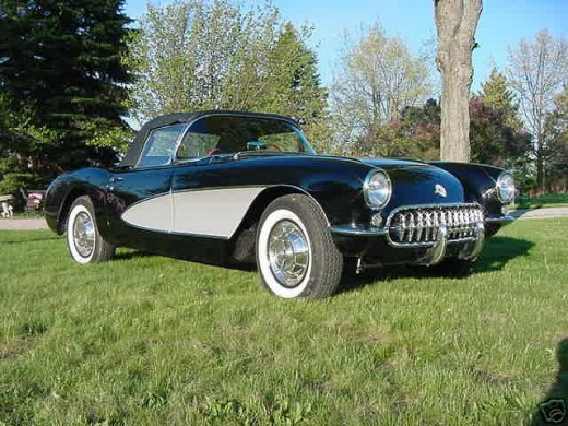 Chevy Classic Cars - 1957 Chevy Corvette
