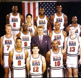 """In 1992, the greatest group of basketball players ever assembled became the first """"Dream Team"""""""