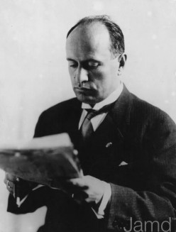 Benito Mussolini - Social Issues in Switzerland