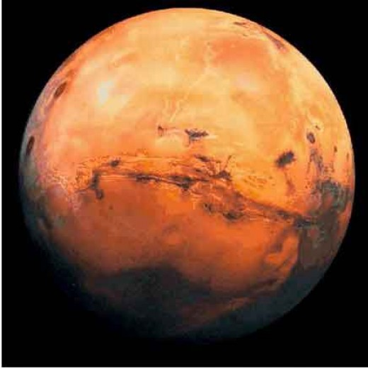 The red planet - Mars