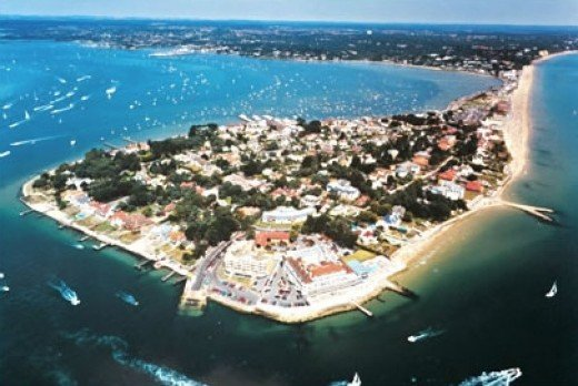 The Sandbanks Peninsula and Poole Harbour